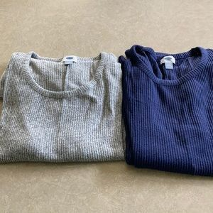 2 Old Navy light weight sweaters, XXL